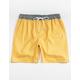 CYA San Paulo Yellow Mens Volley Shorts