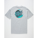 SANTA CRUZ Wave Dot Heather Mens T-Shirt
