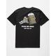 LAST CALL CO. Fear Black Mens T-Shirt
