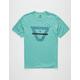 VISSLA Duster Jade Mens T-Shirt