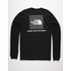 THE NORTH FACE Red Box Black Mens T-Shirt