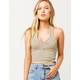 RVCA On The Fence Womens Halter Top