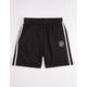 BRIXTON Oath Black Mens Sweat Shorts