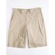 DICKIES Khaki Mens Hybrid Shorts