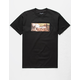 PRIMITIVE Lotus Garden Black Mens T-Shirt