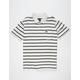 RVCA Desmond Stripe Mens Polo Shirt