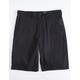 DICKIES Black Mens Hybrid Shorts