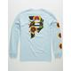 PRIMITIVE Dirty P Sunflower Light Blue Mens T-Shirt