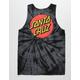 SANTA CRUZ Classic Dot Tie Dye Mens Tank Top