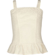 FULL TILT Lace Peplum Girls Corset Top