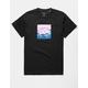 PRIMITIVE Lotus Rings Black Mens T-Shirt