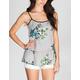 FULL TILT Floral Womens Peplum Top