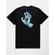 SANTA CRUZ Screaming Hand Black Mens T-Shirt