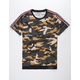 CHARLES AND A HALF Taped Camo Mens T-Shirt