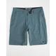 BILLABONG Crossfire X Slub Dusty Blue Mens Hybrid Shorts