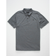 HURLEY Coronado Charcoal Mens Polo Shirt