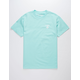 LRG Logo Plus Mint Mens T-Shirt