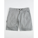 LOST Destroyer Gray Mens Shorts