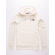 THE NORTH FACE Red Box Vintage White & Black Mens Hoodie