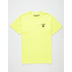 LRG Logo Plus Neon Yellow Mens T-Shirt