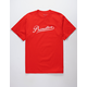 PRIMITIVE Caldwell Red Mens T-Shirt