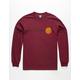 SANTA CRUZ Classic Dot Burgundy Mens T-Shirt