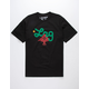 LRG Rasta Stacked LRG Mens T-Shirt