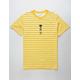 NEON RIOT Panther Kanji Mustard Mens T-Shirt