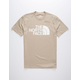 THE NORTH FACE Half Dome Beige Mens T-Shirt