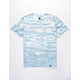 HUF Issue Logo Resort Wash Mens T-Shirt