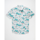 BILLABONG Sundays Floral Gray Mens Shirt