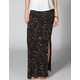 FULL TILT Splatter Print Maxi Skirt