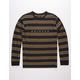BRIXTON Cantor Black Mens T-Shirt
