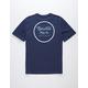 BRIXTON Wheeler II Royal Mens T-Shirt