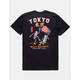 RIOT SOCIETY Skeleton Dance Mens T-Shirt