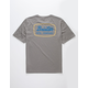 BRIXTON Jolt Heather Gray Mens T-Shirt