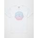 VISSLA Horizons White Mens T-Shirt