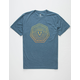 VISSLA Horizons Heather Navy Mens T-Shirt