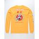 RIOT SOCIETY Flying Crane Gold Mens T-Shirt