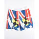 UNCLE RALPH Nautical Flag Mens Volley Shorts