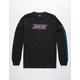 SANTA CRUZ Checkered Stripe Hue Black Mens T-Shirt