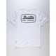 BRIXTON Jolt White Mens T-Shirt
