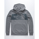 THE NORTH FACE Edge To Edge Heather Gray Mens Hoodie