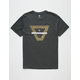 VISSLA Duster Heather Black Mens T-Shirt