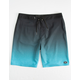 O'NEILL Hyperfreak Solid Gradient Blue Mens Boardshorts
