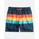VALOR Sur Stripe Mens Volley Shorts