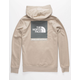 THE NORTH FACE Red Box Explorer Beige Mens Hoodie