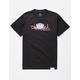 DIAMOND SUPPLY CO. Lotus OG Script Black Mens T-Shirt