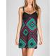 LOTTIE & HOLLY Ethnic Print Crochet Dress