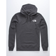 THE NORTH FACE New Record Charcoal Mens Hoodie
